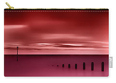 Long Red Sunset Carry-all Pouch