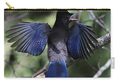 Look At My Wings Carry-all Pouch by Alyce Taylor