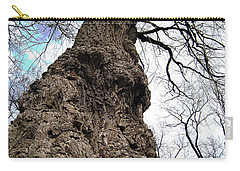 Carry-all Pouch featuring the photograph Look Up Look Way Up by Nina Silver