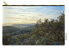 Carry-all Pouch featuring the photograph Looking At The Horizon - Santa Rosa Hills by Glenn McCarthy