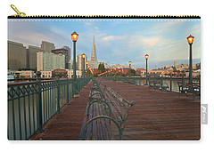 Carry-all Pouch featuring the photograph Looking Back by Jonathan Nguyen