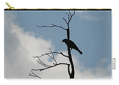 Carry-all Pouch featuring the photograph Looking Down On Me  by Michael Krek