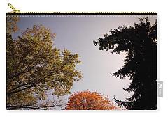 Carry-all Pouch featuring the photograph Looking Down On Us by Photographic Arts And Design Studio