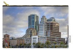 Carry-all Pouch featuring the photograph Looking Downtown by Kate Brown