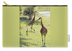 Looking For A Handout Carry-all Pouch by Carol Groenen