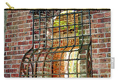 Looking Through Time Carry-all Pouch by Karen Silvestri