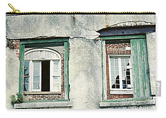Carry-all Pouch featuring the photograph New Orleans Looking Thru And Beyond by Michael Hoard