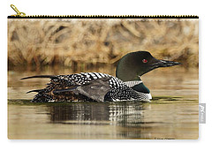 Loon 10 Carry-all Pouch by Steven Clipperton