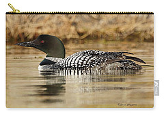 Loon 11 Carry-all Pouch by Steven Clipperton