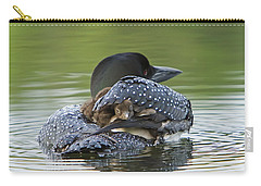 Loon Chick - Peek A Boo Carry-all Pouch