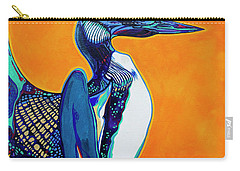Loon Carry-all Pouch by Derrick Higgins