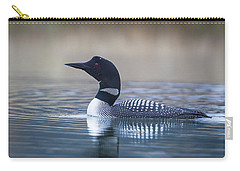 Carry-all Pouch featuring the photograph Loon by Jack Bell