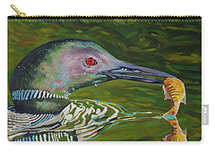 Loon Lunch Carry-all Pouch by Phil Chadwick