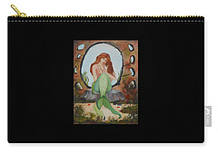 Loralie And Her Daughter Carry-all Pouch by Virginia Coyle