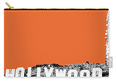 Los Angeles Skyline Hollywood - Coral Carry-all Pouch