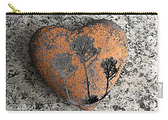 Carry-all Pouch featuring the photograph Lost Heart by Juergen Weiss