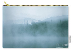 Lost In Fog Over Lake Carry-all Pouch