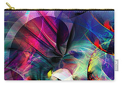 Carry-all Pouch featuring the digital art Lost In Hyperspace by David Lane