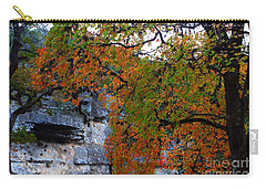 Fall Foliage At Lost Maples State Natural Area  Carry-all Pouch