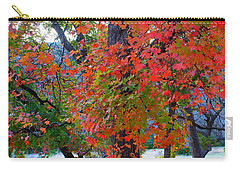Lost Maples Fall Foliage Carry-all Pouch