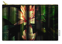 Lotus Bamboo  Carry-all Pouch