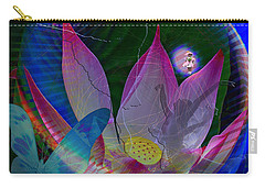Lotus Flower Energy Carry-all Pouch