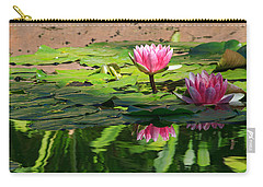 Lotus Flower Reflections Carry-all Pouch