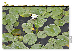 Lotus Pads Carry-all Pouch by Jean Goodwin Brooks