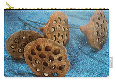 Carry-all Pouch featuring the photograph Lotus Pods by Diane Alexander