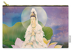 Lotus-sitting Avalokitesvara  Carry-all Pouch