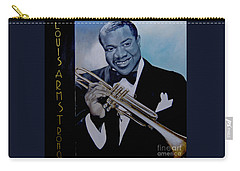 Louis Armstrong Carry-all Pouch by Chelle Brantley