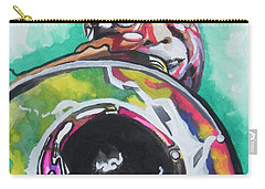 Louis Armstrong Carry-all Pouch by Chrisann Ellis