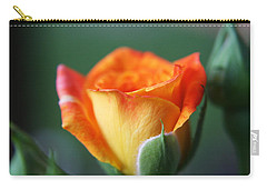 Louisiana Orange Rose Carry-all Pouch