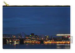 Carry-all Pouch featuring the photograph Louisville Skyline by Deborah Klubertanz