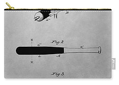 Louisville Slugger Patent Drawing Carry-all Pouch by Dan Sproul