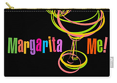 Lounge Series - Margarita Me Carry-all Pouch by Mary Machare