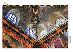 Louvre Ceiling Carry-all Pouch by Glenn DiPaola