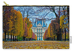 Louvre In Fall Carry-all Pouch
