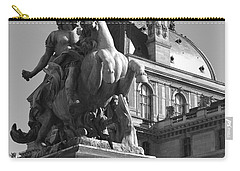 Louvre Man On Horse Carry-all Pouch