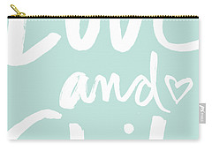 Love And Shit -greeting Card Carry-all Pouch