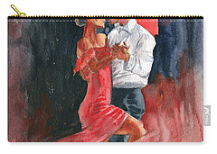 Love And Tango Carry-all Pouch by Melly Terpening
