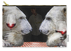 Carry-all Pouch featuring the digital art Love Bears All Things by Jane Schnetlage