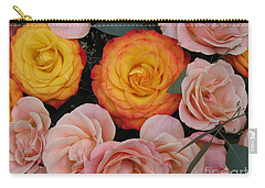 Love Bouquet Carry-all Pouch by HEVi FineArt