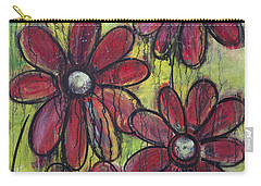 Love For Five Daisies Carry-all Pouch