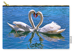 Love For Lauren On Lake Eola By Diana Sainz Carry-all Pouch