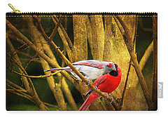 Carry-all Pouch featuring the photograph Love In A Dark World by Trina  Ansel