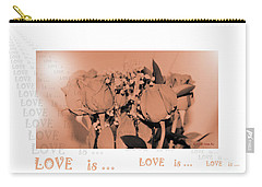 Endless Love. Love Is... Collection 13. Romantic Carry-all Pouch by Oksana Semenchenko