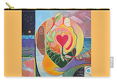 Love Is Love Carry-all Pouch by Helena Tiainen