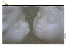 Carry-all Pouch featuring the photograph Love Is The Reason by Lauren Radke