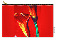 Love Lilies Carry-all Pouch by Jackie Carpenter
